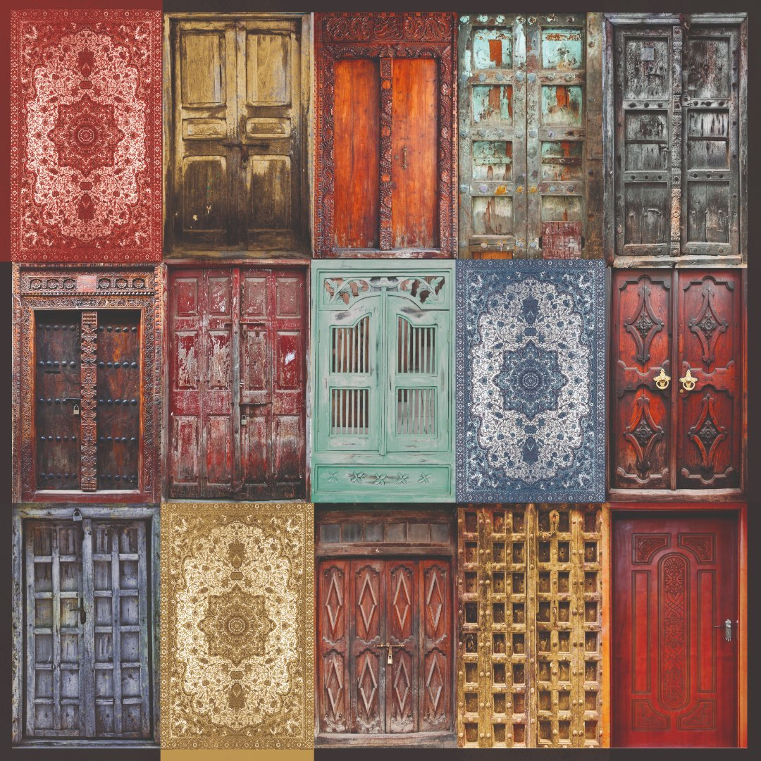 Grand Bazaar Doorway 12x12 Paper