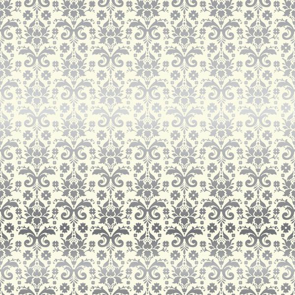 12x12 Designer Specialty Paper: Petticoats & Pinstripes (Damask Foil)