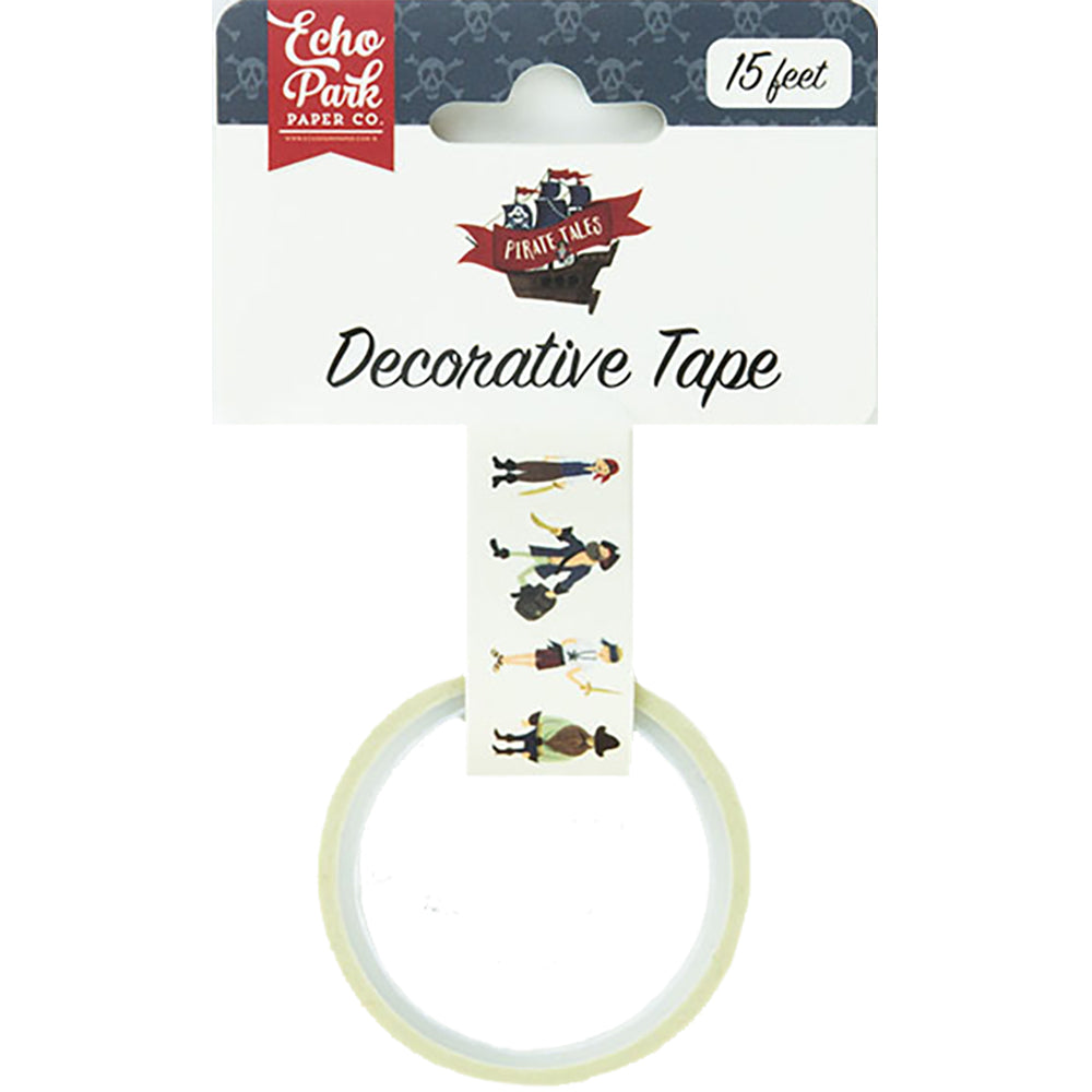 Pirate Tales Mates Decorative Tape