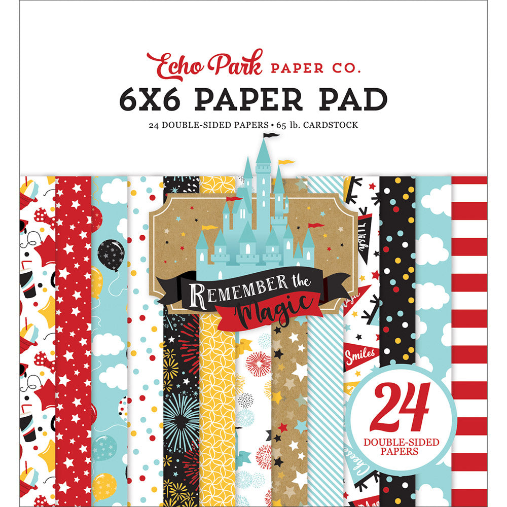 Remember the Magic 6x6 Paper Pad
