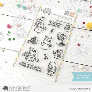 4x6 Clear Stamps: Cool Penguins