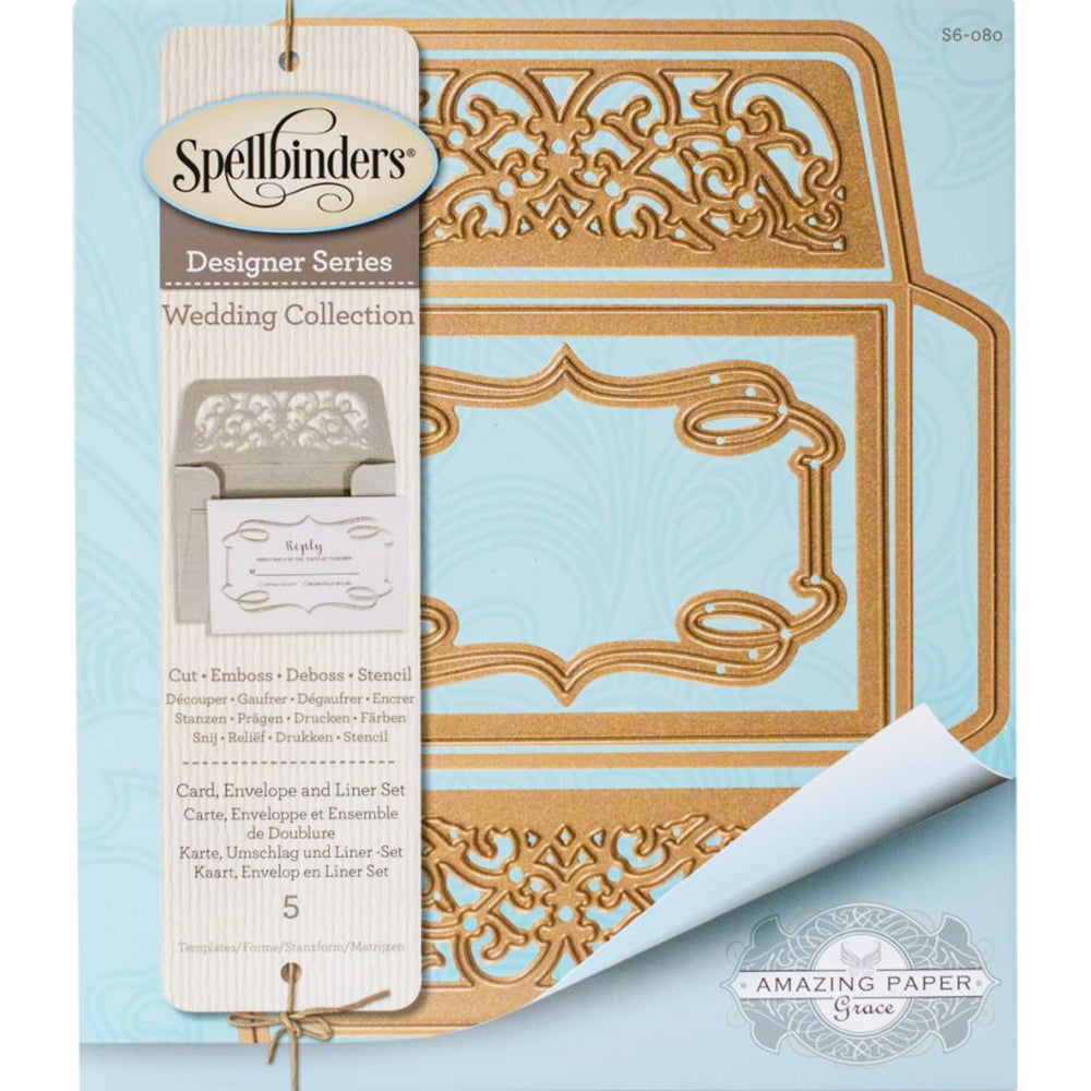 Card, Envelope And Liner Set Dies Set