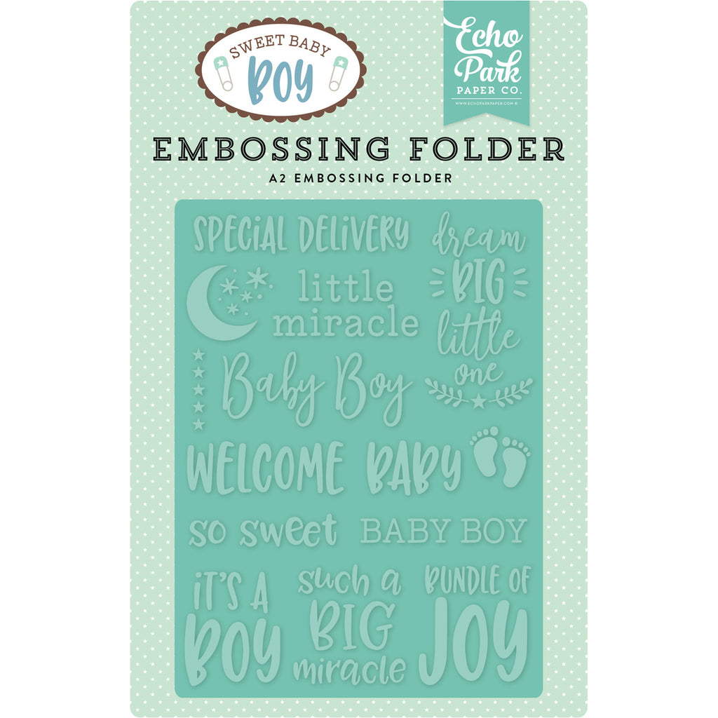 A2 Embossing Folder: Special Delivery
