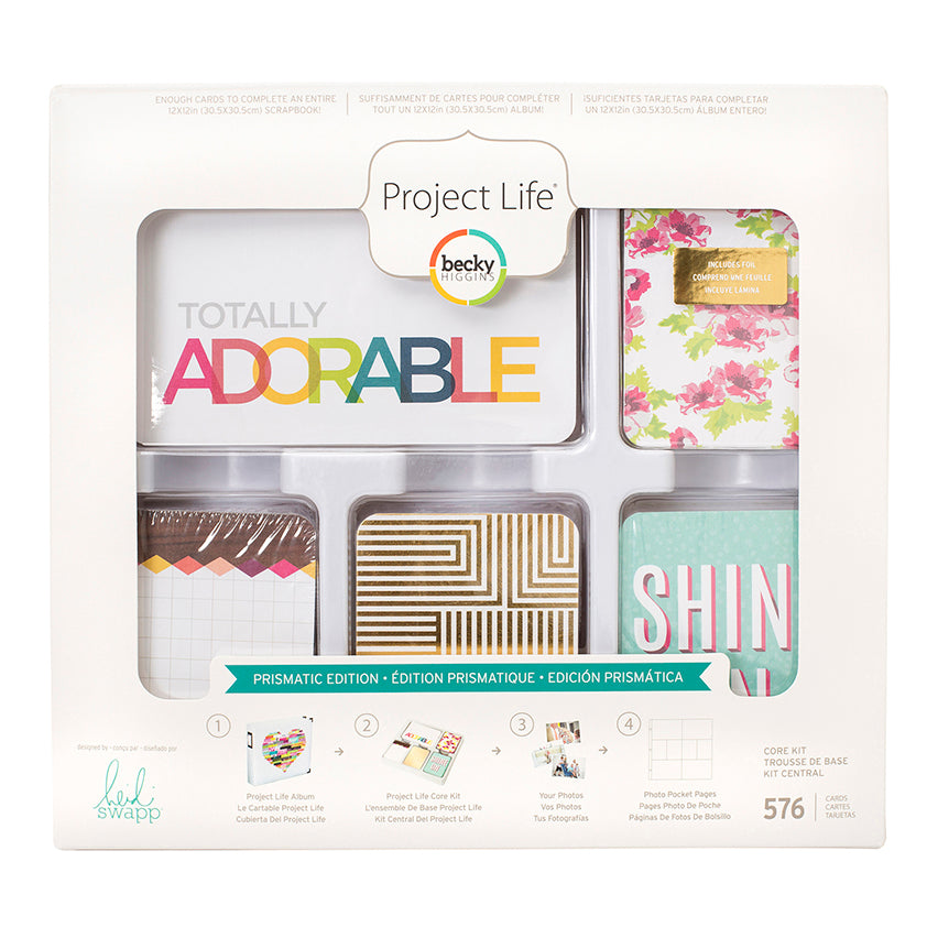 Project Life Prismatic Core Kit