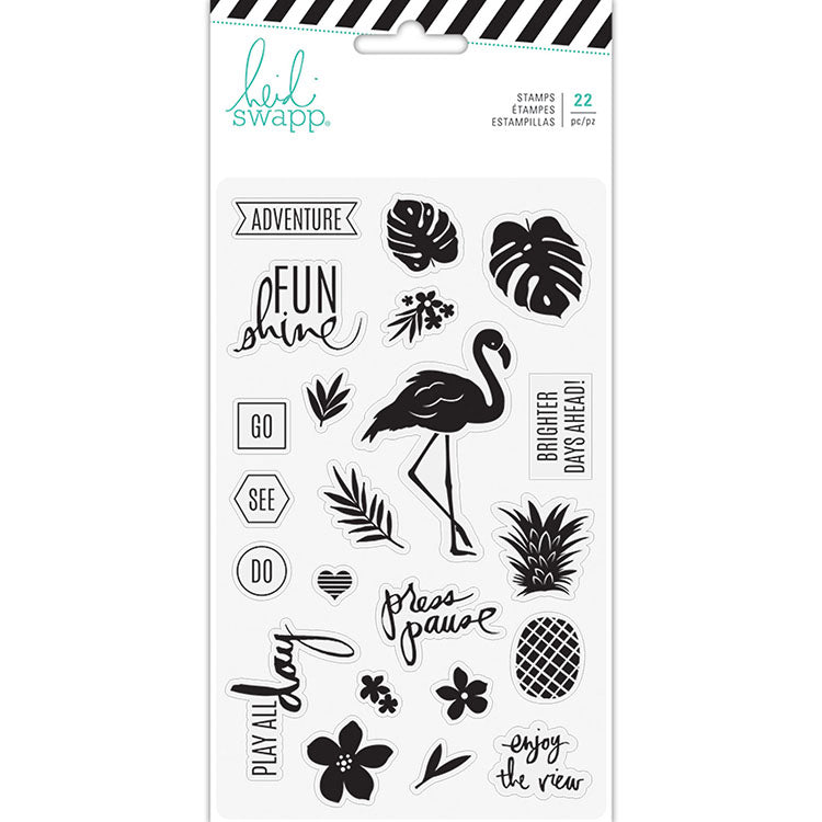 Clear Stamps: Pineapple Crush
