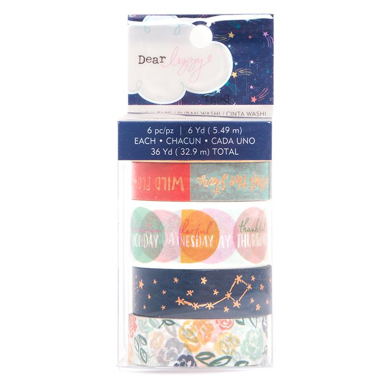 Dear Lizzy Stargazer Washi Tape Set
