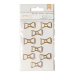 Paper Clips - Gold Bowties