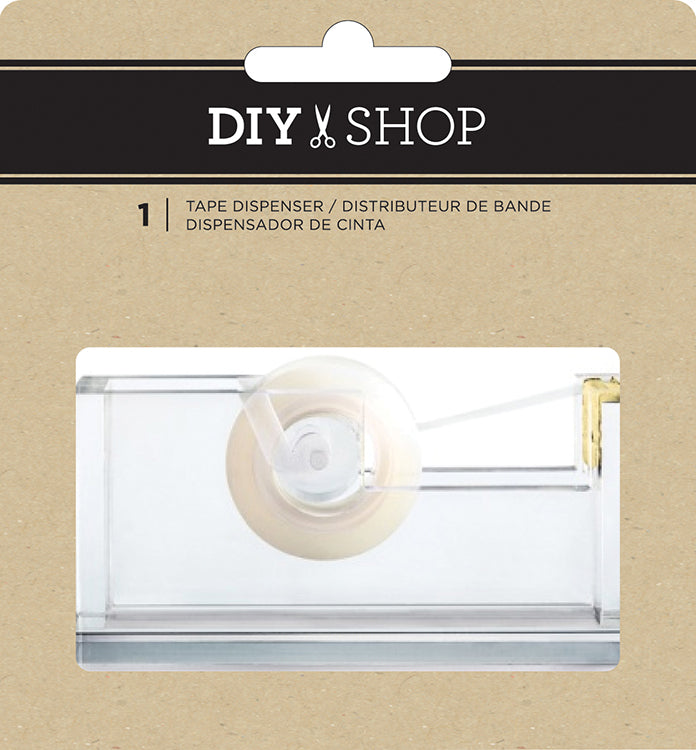 DIY Shop Clear Acrylic Tape Dispenser