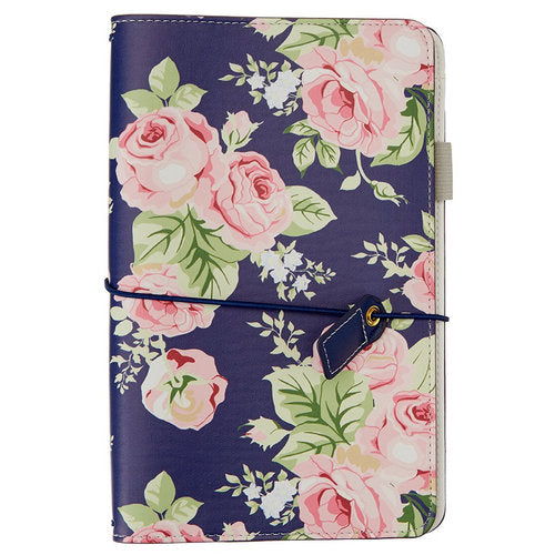 Traveler Notebook: Navy Floral
