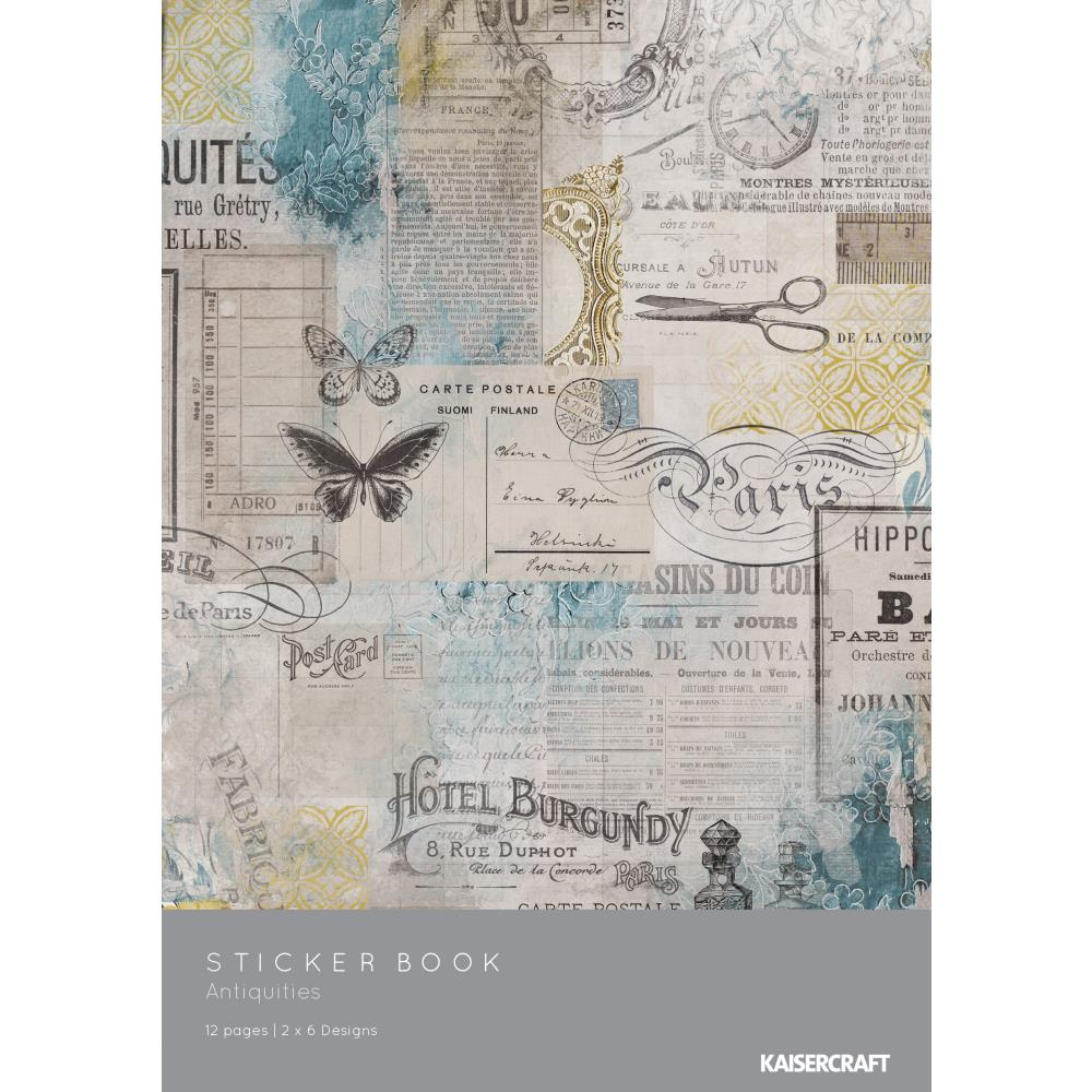 Antiquities Sticker Book