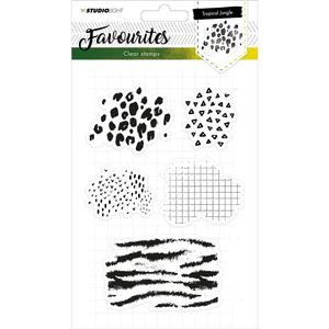 Favourites A5 Clear Stamp Set: NR. 332