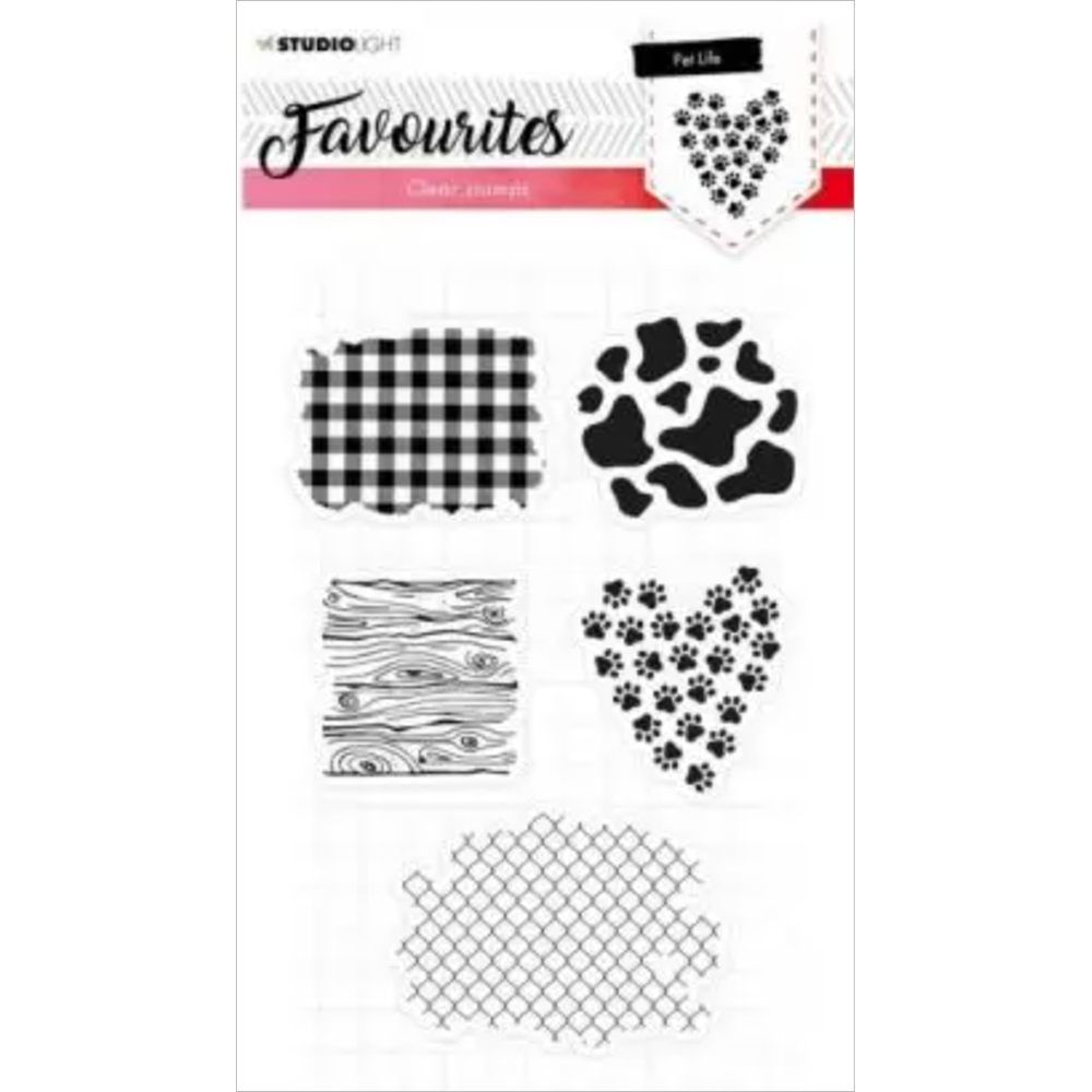 Favourites A5 Clear Stamp Set: NR. 422