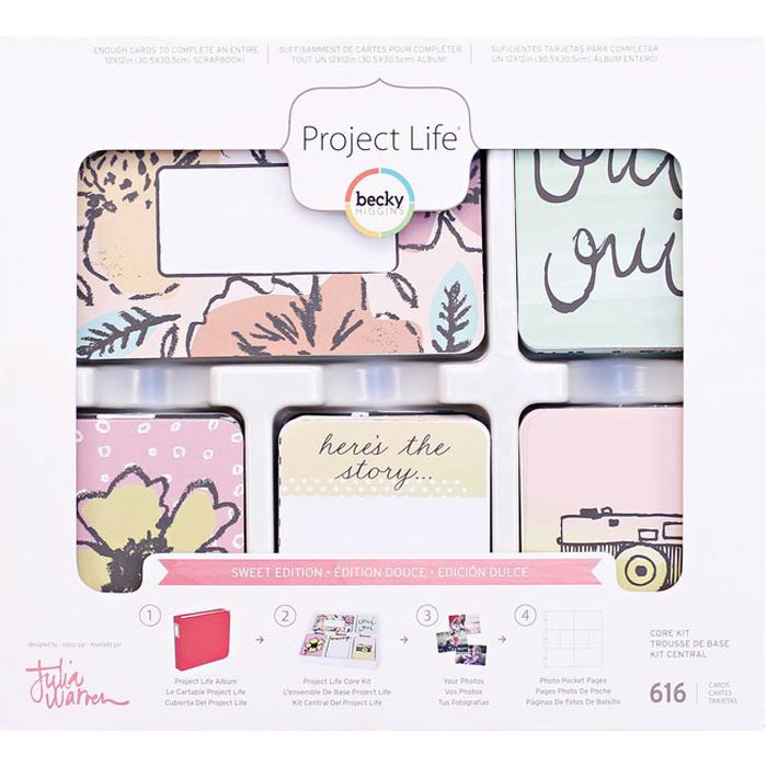 Project Life Julia Warren Sweet Edition