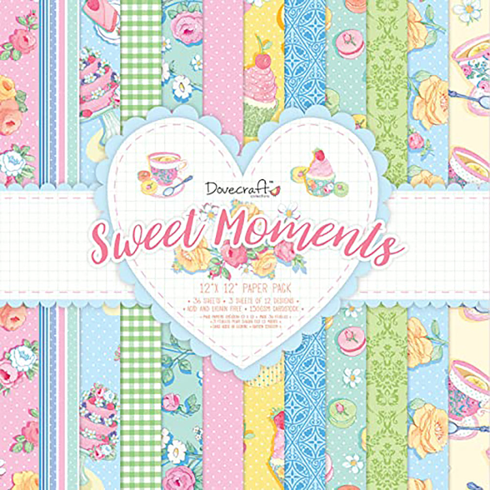 12x12 Paper Pad: Sweet Moments