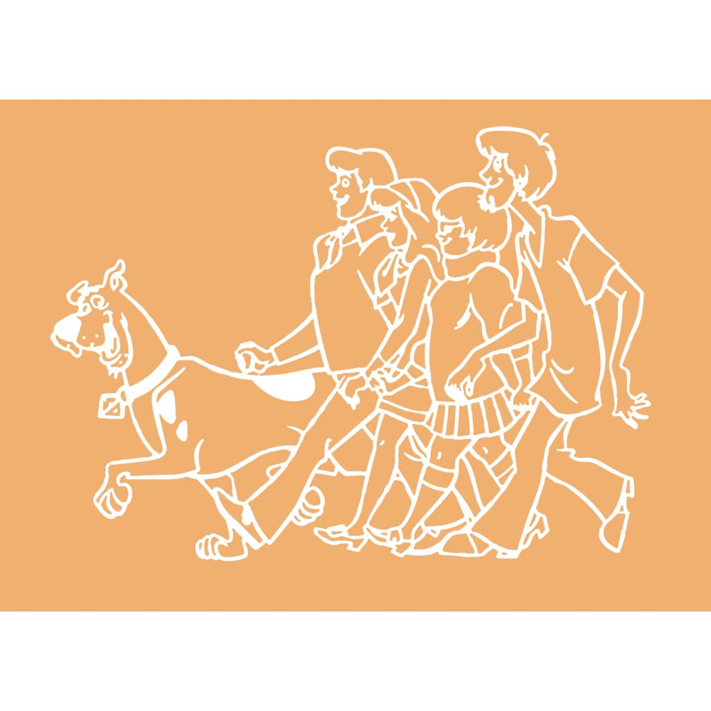 Scooby Doo Design C A6 Embossing Folder