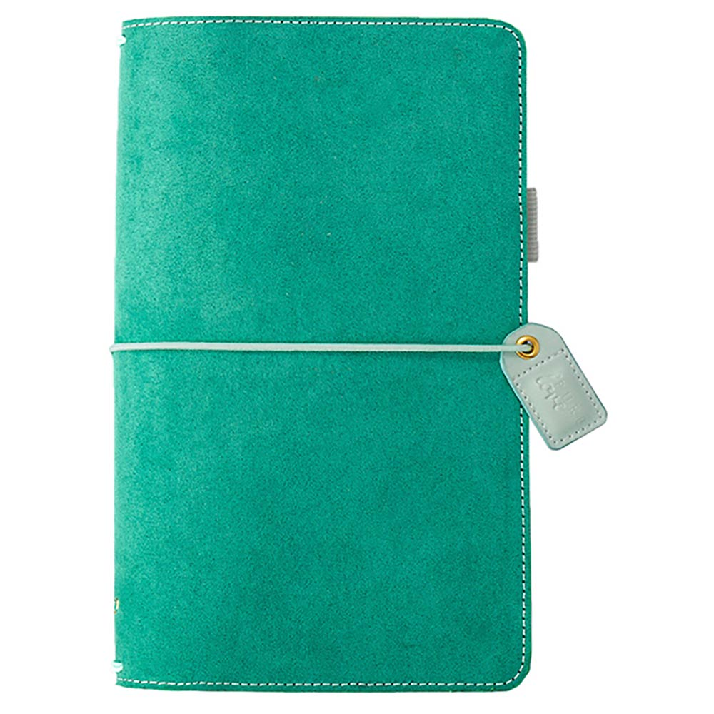 Color Crush Traveler Notebook: Aspen Green Suede