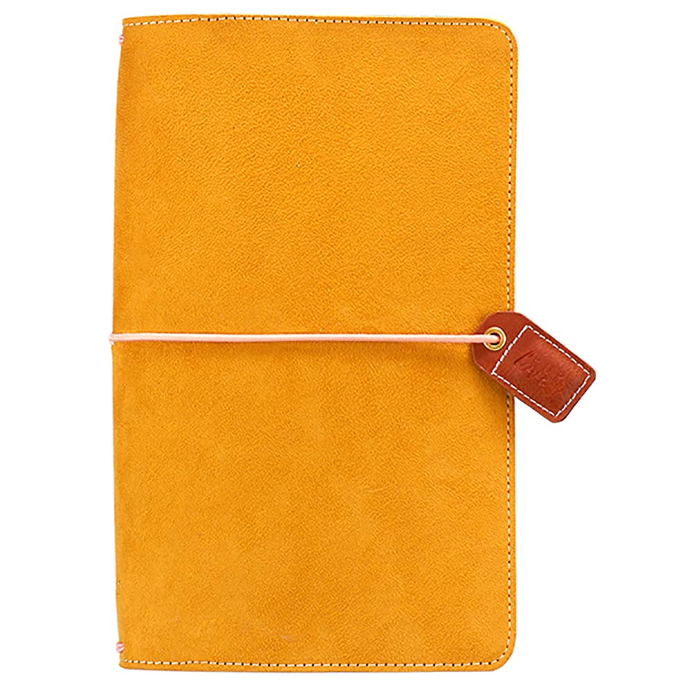 Color Crush Traveler Notebook: Mustard Suede