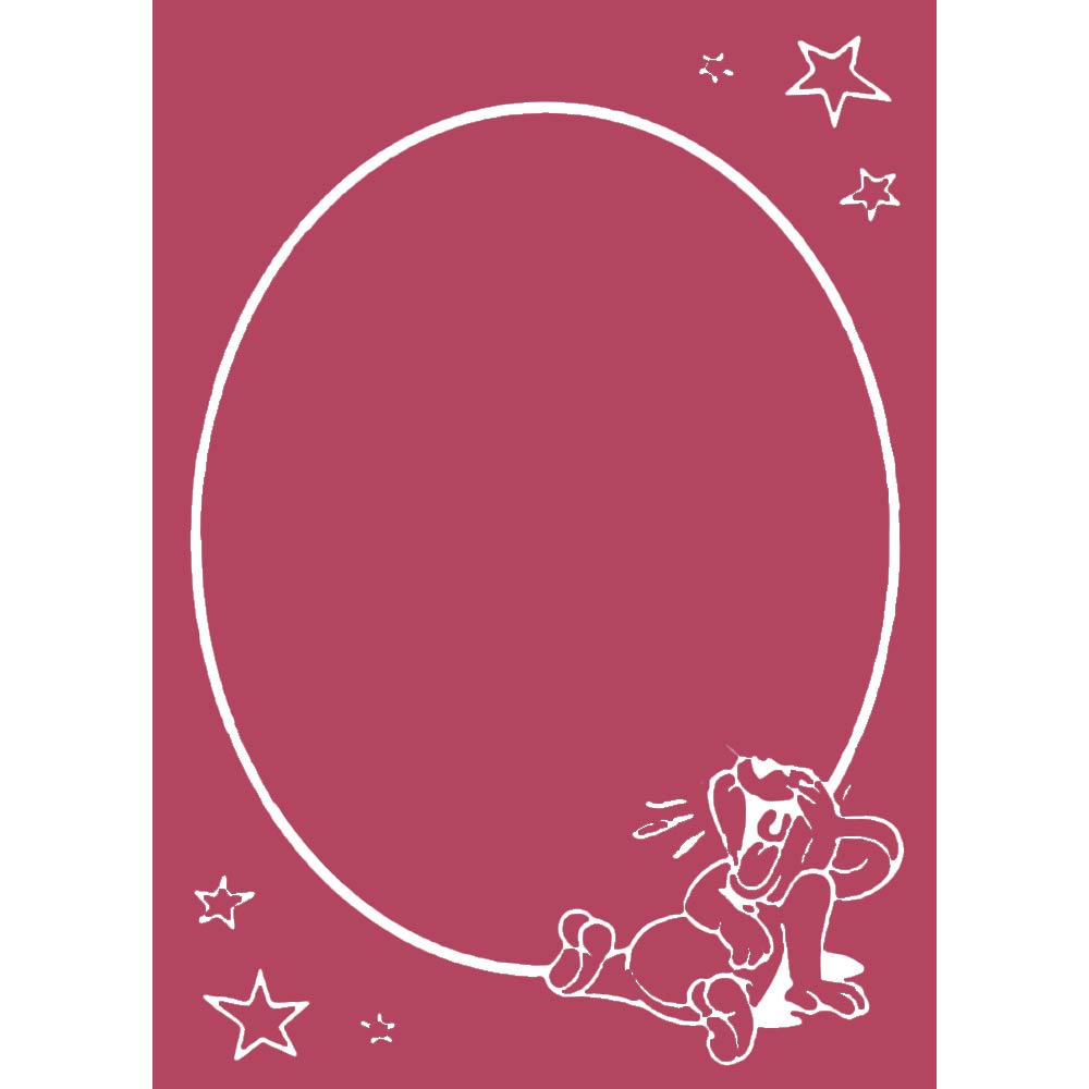 Tom and Jerry Design C A6 Embossing Folder