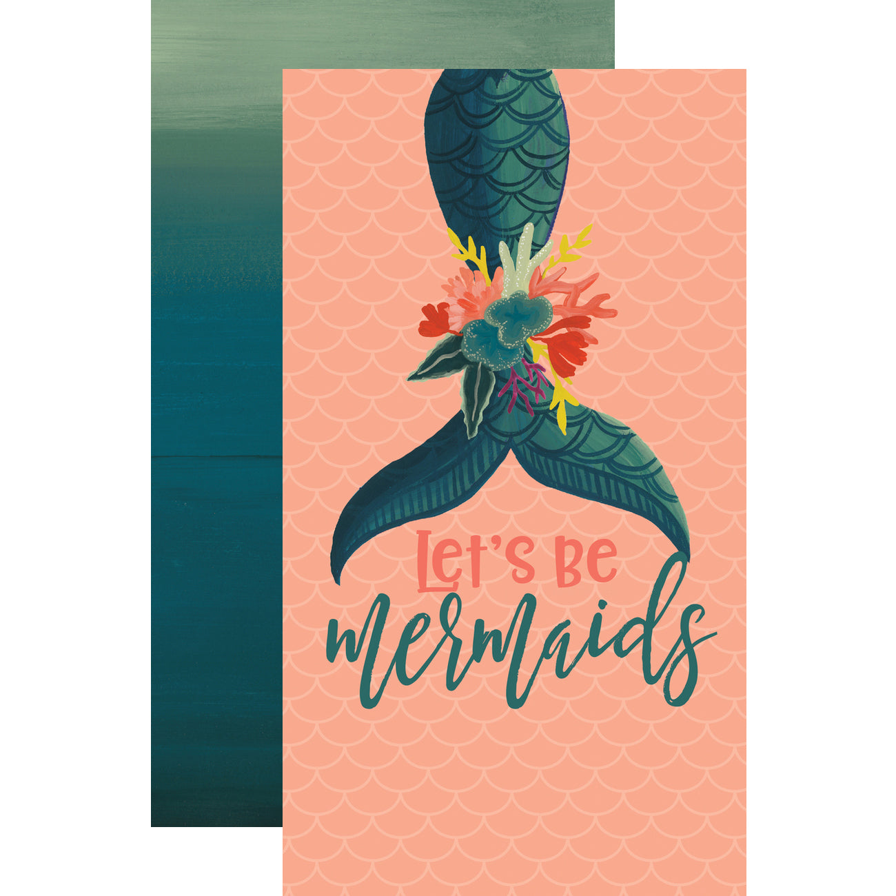 Travelers Notebook Mermaid Lined Inserts (2PK)