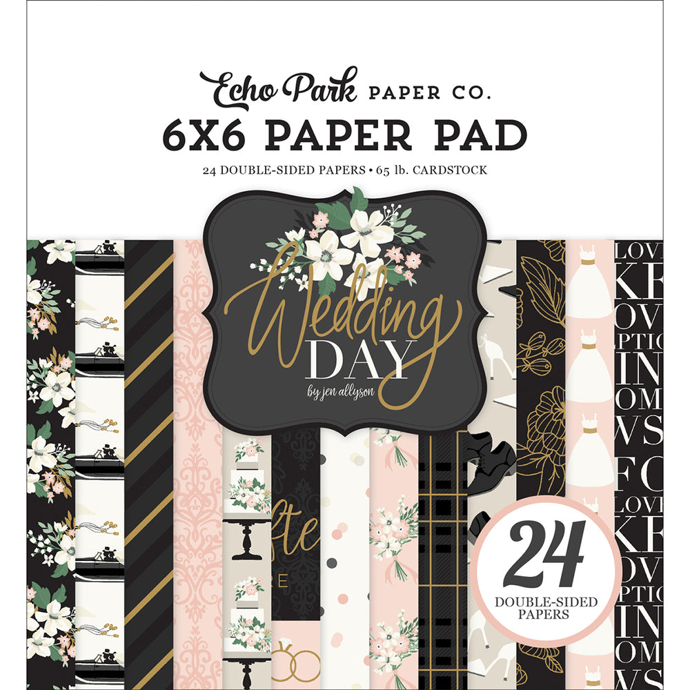 6x6 Paper Pad: Wedding Day