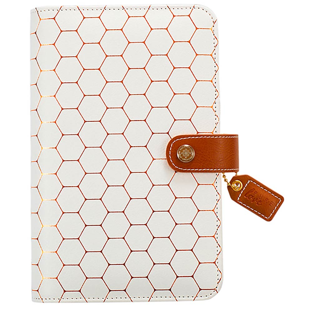 Color Crush Personal Planner Binder: Copper Hexagon