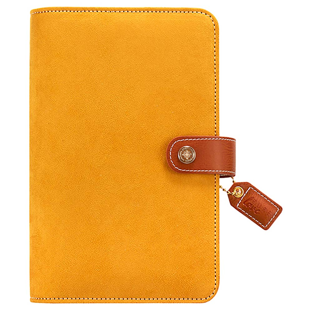 Color Crush Personal Planner Binder: Mustard Suede