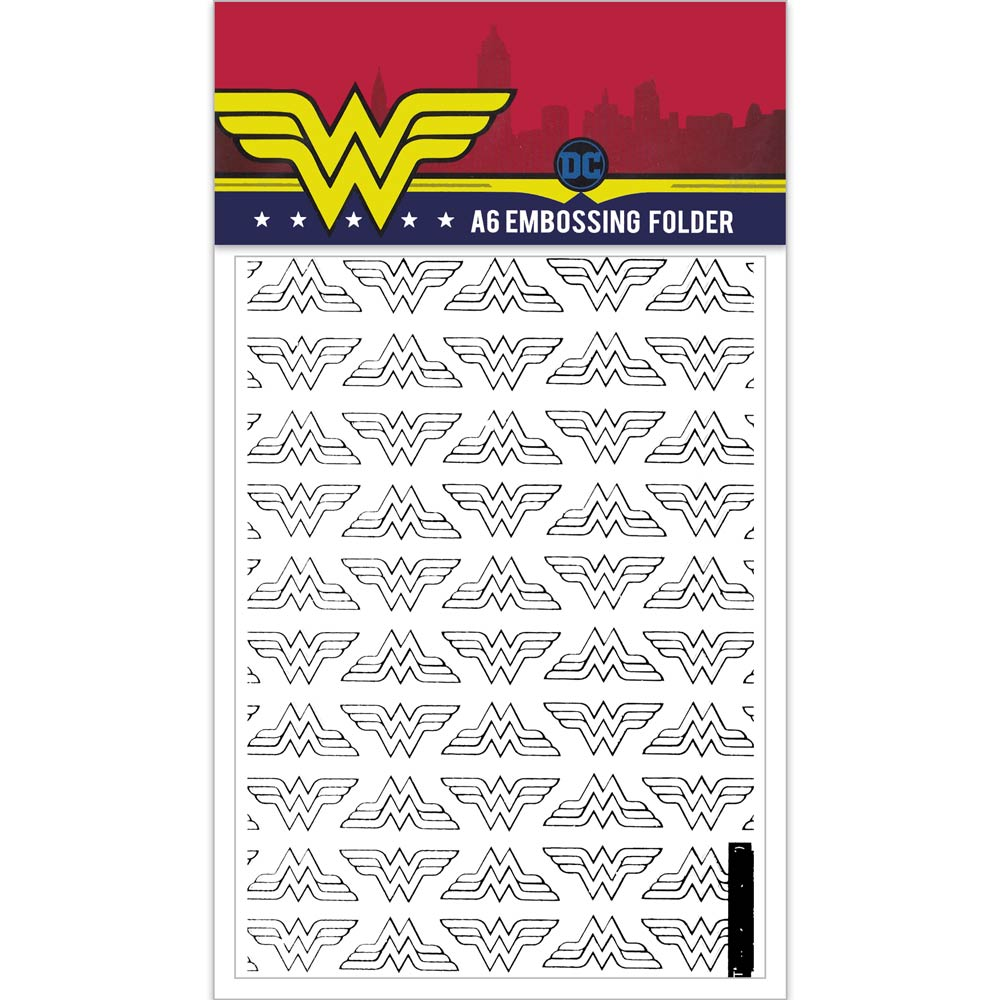 Wonder Woman Design B A6 Embossing Folder