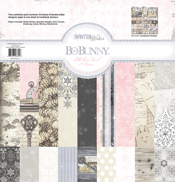 12x12 Collection Kit: Winter Wishes