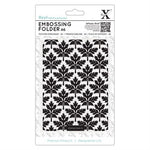Baroque Leaves A6 Embossing Folder