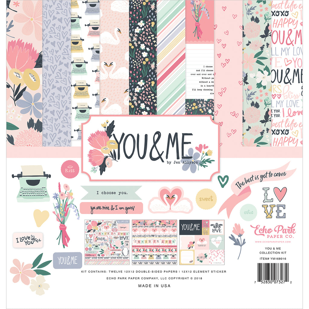 12x12 Collection Kit: You & Me