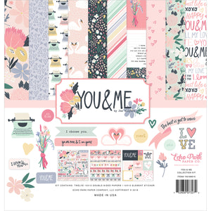 You & Me 12x12 Collection Kit