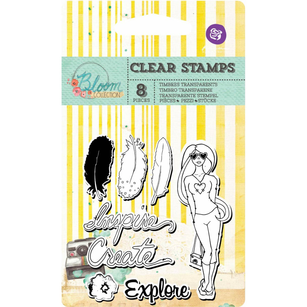 2x3 Clear Stamps: Bloom Girl (Inspire)