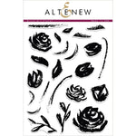 Clear Stamps Set: Brush Art Floral
