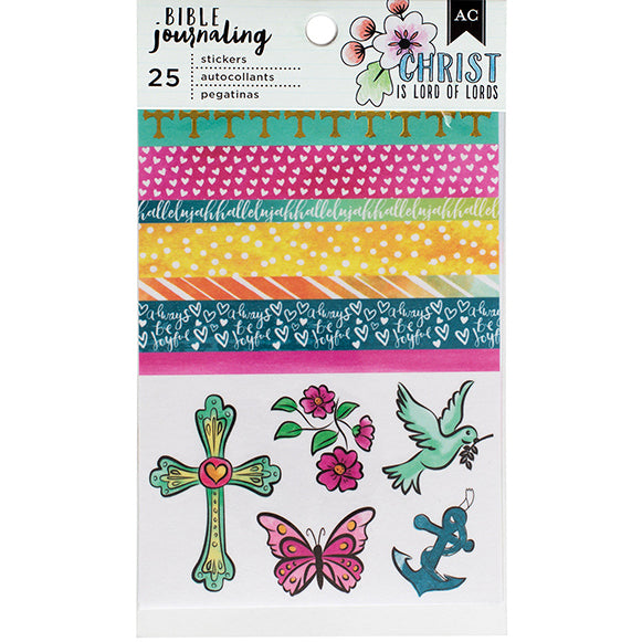 Stickers Pack: Bible Journaling (Washi)