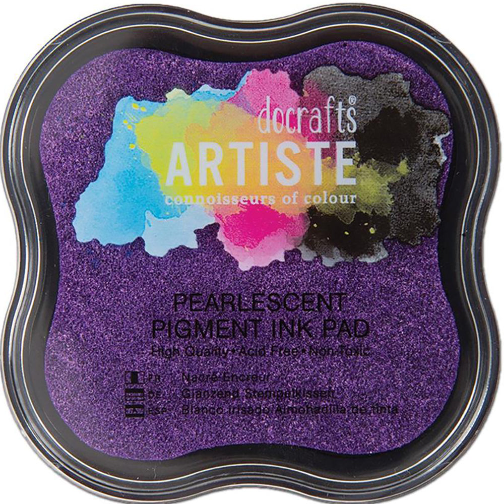 Pearlescent Violet Pigment Ink Pad