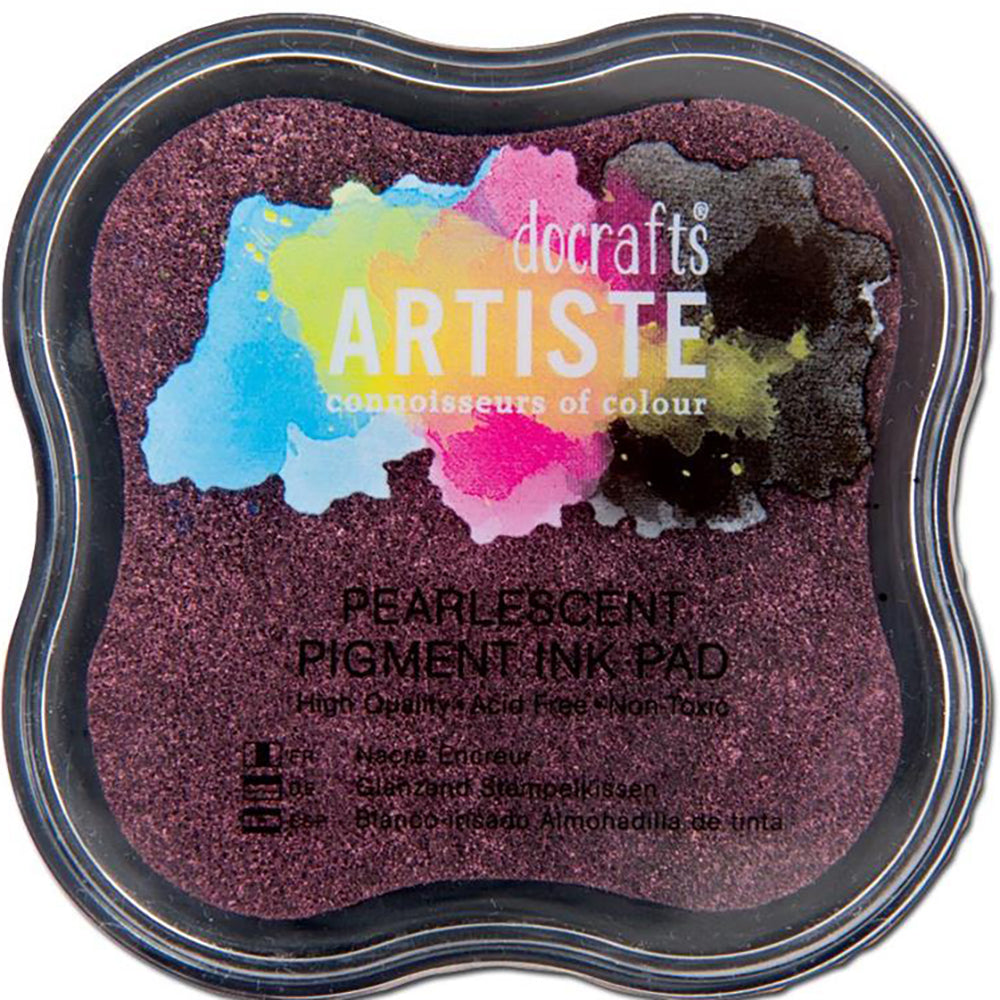 Pearlescent Dusky Rose Pigment Ink Pad