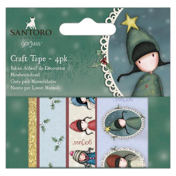 Gorjuss Craft Tape Set: Christmas