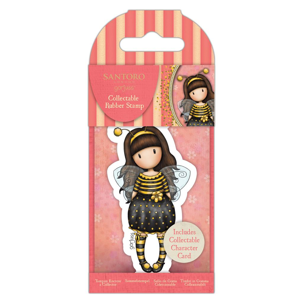 Collectable Rubber Stamp: No. 66 Bee-Loved