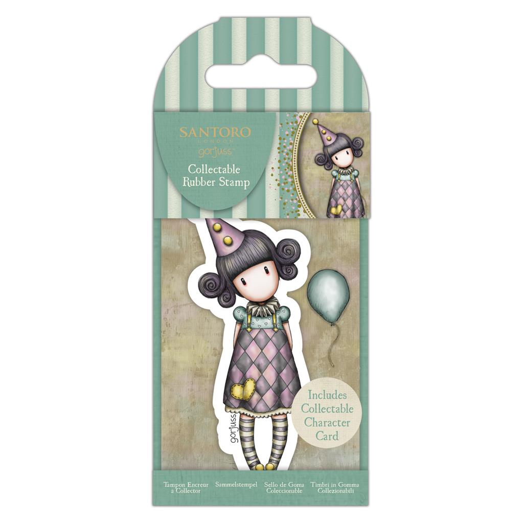 Collectable Rubber Stamp: No. 69 Pierrot
