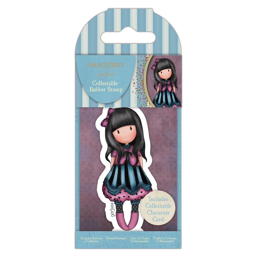 Collectable Rubber Stamp: No. 75 The Frock