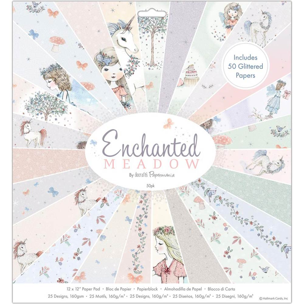 12x12 Paper Pad: Enchanted Meadow