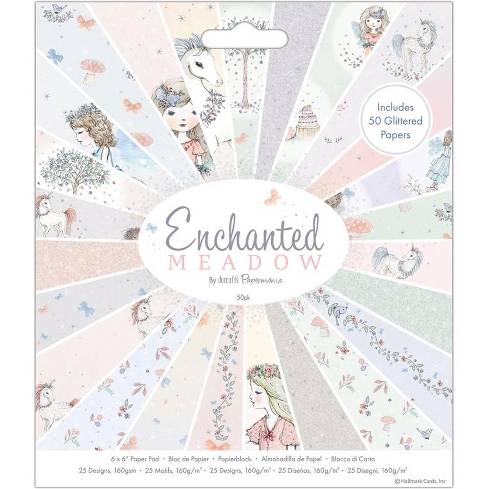 6x6 Paper Pad: Enchanted Meadow