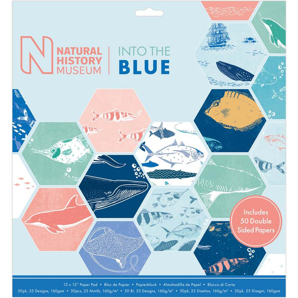 12x12 Paper Pad: Natural History Museum (Into the Blue)