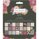 6x6 Paper Pad: Full Bloom