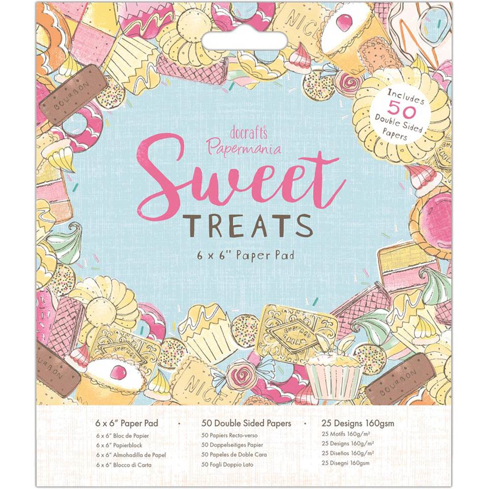 6x6 Paper Pad: Sweet Treats