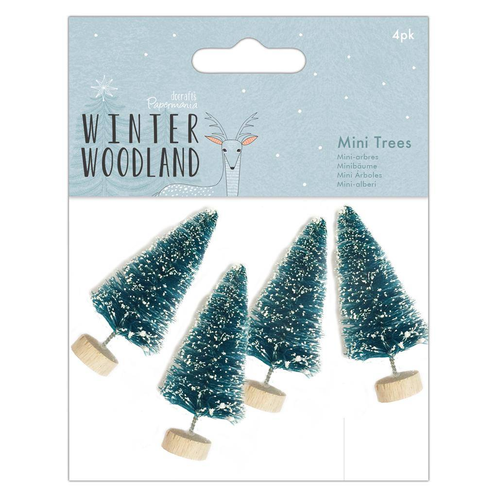 Winter Woodland Mini Trees