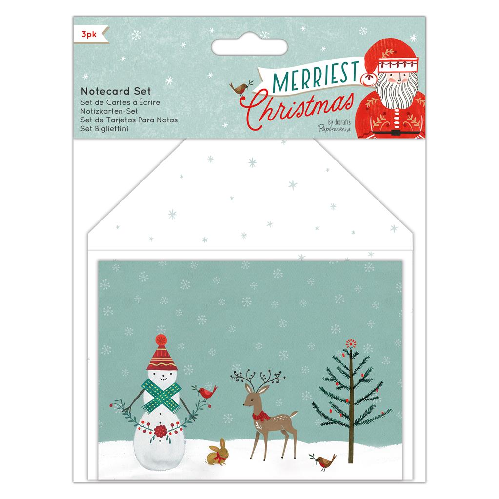 Merriest Christmas Notecard Set