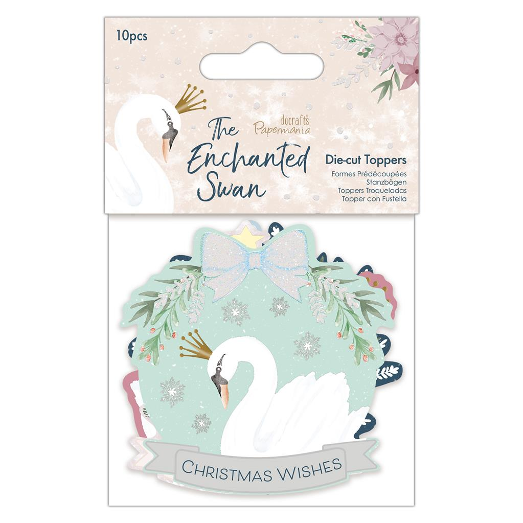 The Enchanted Swan Die-cut Toppers