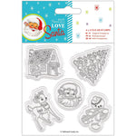 Love Santa 4x4 Clear Stamp Set