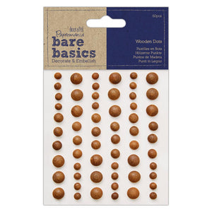 Bare Basics Dark Wooden Dots